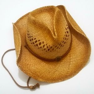 Accessories - Authentic 100% Straw Cowgirl / Cowboy Hat